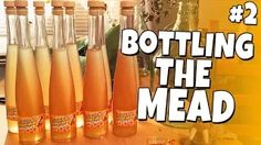 DISCLAIMER: Check your Country/State laws before attempting this, also don't do this if your not of legal age. I always wanted to try to make mead, make sure. Honey Mead, Voss Bottle, Water Bottle, How To Make Mead, Brewing, Beer, Youtube, Watch, Friends