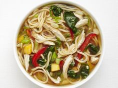 Get this all-star, easy-to-follow Asian Chicken Noodle Soup recipe from Food Network Kitchen