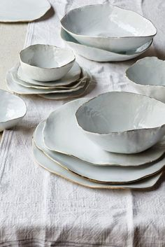Place Settings | Linen Ceramics
