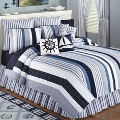 Nantucket Dream Cotton Quilt Bedding
