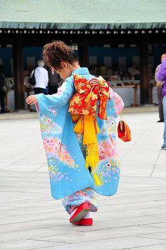 Dancing in a Kimono, Japan