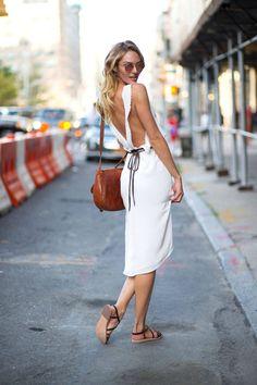 harpersbazaar:  Girl On The Street: New York Fashion Week Photo Credit: Diego Zuko