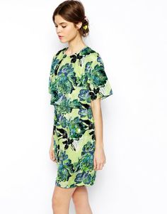 Love this: Salon Printed Embellished Dress @Lyst