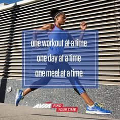 One Workout at a Time One Day at a Time One Meal at a Time  #Motivation #fitness #quotes