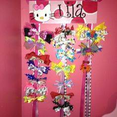 Hootieroo hair bow holder
