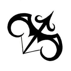 Sagittarius and Aries combination Tattoo