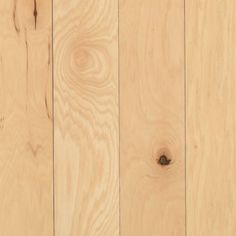 Mohawk Industries Hickory Natural Wide Solid Hardwood Flooring - Smooth Hickory Appearance- Sold by Carton SF/Carton) Luxury Vinyl Tile, Luxury Vinyl Plank, Engineered Hardwood Flooring, Hardwood Floors, Hickory Flooring, Mohawk Industries, It's All Happening, Natural Flooring, Natural Wood