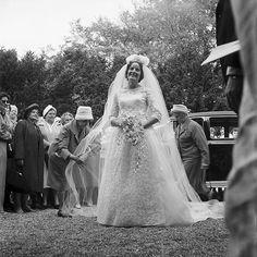 Wedding of Catherine Teleri Hughes & Cyril W. Jones on September 28, 1961, Beaumaris, Wales