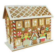 Wooden Gingerbread House Advent Calendar - EarlyWhirly - The Best Deals on The Best Wooden & Educational Toys