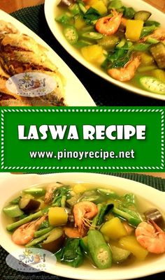 Laswa Recipe is a healthy dish and very rich in fiber. Laswa is perfect with fried fish. Filipino Soup Recipes, Filipino Vegetable Recipes, Vegetable Soup Recipes, Meat Recipes, Filipino Food, Cooking Recipes, Healthy Recipes, Filipino Dishes, Pinoy Food