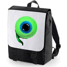 Jacksepticeye Backpack (one eye) (43 CAD) ❤ liked on Polyvore featuring bags, backpacks, day pack backpack, knapsack bags, padded backpack, mesh bag and rucksack bag