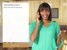 Template Tuesday: Take a look at out new Lectora Call Center scenario.