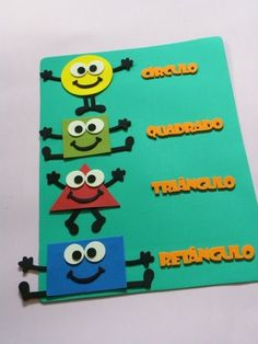 Classroom Ideas In Portuguese Board Decoration, Class Decoration, Classroom Board, Classroom Decor, Shapes For Kids, Zeina, Early Childhood Education, Kids And Parenting, Kids Learning