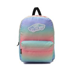 b6753d145a26 Add the new Realm Rainbow Backpack from Vans to your scholarly style! The  Realm…