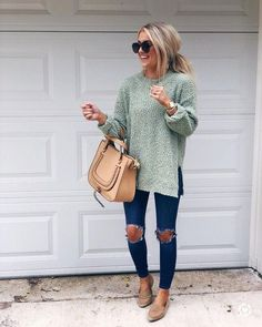 Fall outfits women - 26 Trendy Fall Women Outfits to Copy Right Now – Fall outfits women Perfect Fall Outfit, Cute Fall Outfits, Fall Winter Outfits, Spring Outfits, Trendy Outfits, Work Outfits, Casual Winter, Winter Clothes, Outfits For Rainy Days