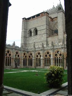Claustro  Catedral de Avila, Spain http://whc.unesco.org/en/list/348