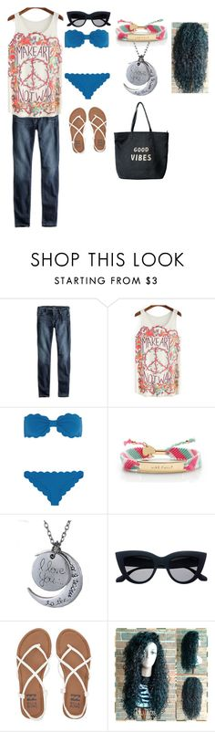 """""""beach day"""" by bettyboop2001 on Polyvore featuring Lucky Brand, Marysia Swim, Kate Spade, Billabong and Venus"""