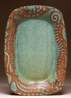 Mangham Pottery. I would serve cheese and crackers on this or use as a bread tray for the dinner table. beautiful