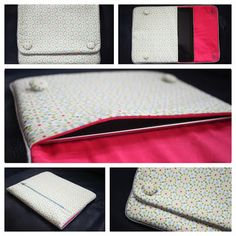 iPad case with a zippered pocket tutorial