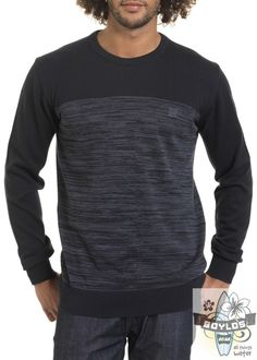 Mens Oxbow Copala surf jumper in dark grey  http://www.boylos.co.uk/products/view/oxbow-jumper---copala