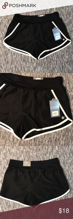 NWT Black Workout Shorts Brand new with tags. Comfy and cute simple Black Workout Shorts, easily paired with almost every top. Size Small. Made from 100% Polyester. tek gear Shorts