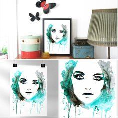 """Et enkelt udpluk fra dagens """"Finurlige nyheder """" fra Amio.dk - hvor du kan købe Sofie Rolfsdotter / Break free, Print 21x30 cm til 150,- blot følg linket her  http://www.amioamio.com/da/produkt/68927/  Sofie viser her inspiration hvordan du kan pynte dit hjem op...  Kom ud over Stepperne med din Kunst & Designs - sign up til nyhedsbrev på www.dorthewalbum.dk og få GRATIS online workshoppen """"Fra Hobby til Business"""" ( værdi 695,- )"""