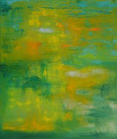 "Saatchi Art Artist Marta Zamarska; Painting, ""Emerald Prelude"" #art"