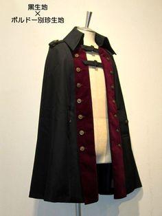 Lolita Fashion, Gothic Fashion, Look Fashion, Fashion Outfits, Fashion Design, Mode Alternative, Lolita Mode, Steampunk Costume, Poncho