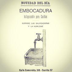 Novedad del dia: una canilla #argentina #1900 #ads  #buenosaires #vintage