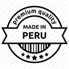 Made in Peru.