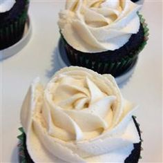 Irish car bomb cupcakes..Chocolate Beer Cupcakes With Whiskey Filling And Irish Cream Icing Allrecipes.com   i
