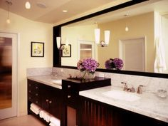 Every bathroom can be transformed into a spa with proper lighting.  #mondaymotivation