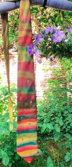 """Fathers day necktie, 100% SILK, Handpainted on """"Tie Rack"""", Unique gift men, Hundertwasser abstract tie, video,ready to ship, chic, style Friedensreich Hundertwasser, Tie Rack, Unique Gifts For Men, You Are The Father, Fathers Day, Hand Painted, Ship, Abstract, Trending Outfits"""
