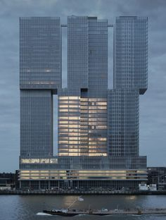 Rem Koolhaas/OMA - De Rotterdam - 2014