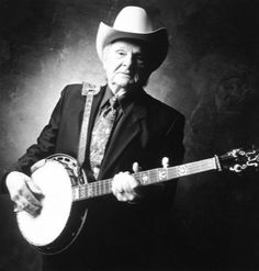 Ralph Stanley - great Appalachian mountain musician was a haunting singer and clawhammer banjo picker. Formed seminal bluegrass group, the Stanley Brothers & the Clinch Mountain Boys with sibling Carter.