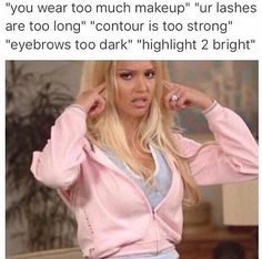 Few things have the ability to brighten our day like a solid meme. But we found something even better than the average meme: beauty memes. Makeup Humor, Makeup Quotes, Funny Makeup, Jeffree Star, Beauty Box, Hair Beauty, Beauty Makeup, Beauty Tips, Beauty Products