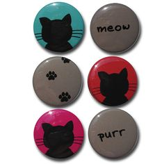 Hey, I found this really awesome Etsy listing at http://www.etsy.com/listing/123699987/cat-magnets-1-inch-magnets-cat-art