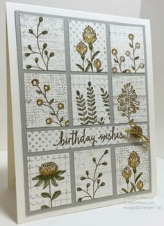 Peggy Noe – blog details It's Sunday and I have 25 paper crafting picks to make you say WOW! They were created by the talented members of my Stampin' Pretty Pals Virtual Community! Each Sunday, I shar