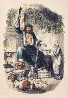 1843 – A Christmas Carol by Charles Dickens | ... of Christmas Present. From Charles Dickens' A Christmas Carol, 1843