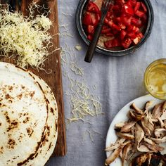 Grilled-Chicken Quesadillas | Food & Wine