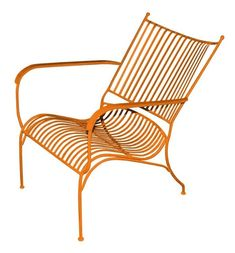Mr Fredrik Vilstol i Smide Gul Garden Furniture, Outdoor Furniture, Coffee Chairs, Outdoor Chairs, Outdoor Decor, It Cast, Iron, Yellow, Inspiration