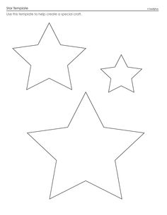 Star Template   Star Template - Download as PDF