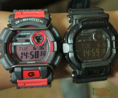 G-Shock GD-400 versus G-Shock GD-350