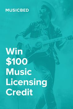 7 lucky winners will WIN a $100 credit to license relevant music on @themusicbed - Awesome Music for your video projects!