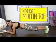 Get Rid Of The Muffin Top! Best Ab Workout - Natalie Jill Fitness