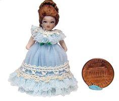 "unknown artist - 1.5"" Porcelain Doll"