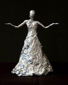 sculpture papier mach Alexandra Fadin et ses sculp - sculpture Paper Mache Clay, Paper Mache Sculpture, Paper Mache Crafts, Paper Clay, Clay Art, Sculpture Art, Paper Art, Clay Dolls, Art Dolls