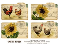 7 Images of Free Printable Country Art