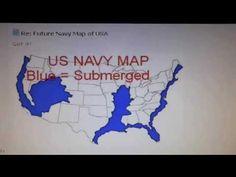 Agenda US Navyfuture Map East West Coast Madrid Fault Line - Us navy map blue submerged