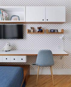 Home Office Decor, Office Desk, Home Decor, My Room, Kids Bedroom, Corner Desk, House, Furniture, Amo Jeans